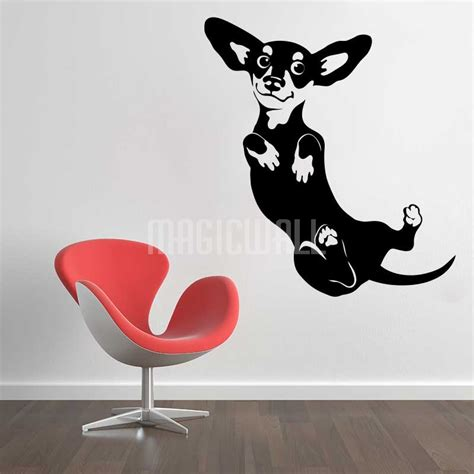 puppy wall stickers wall decals dachshund wall stickers