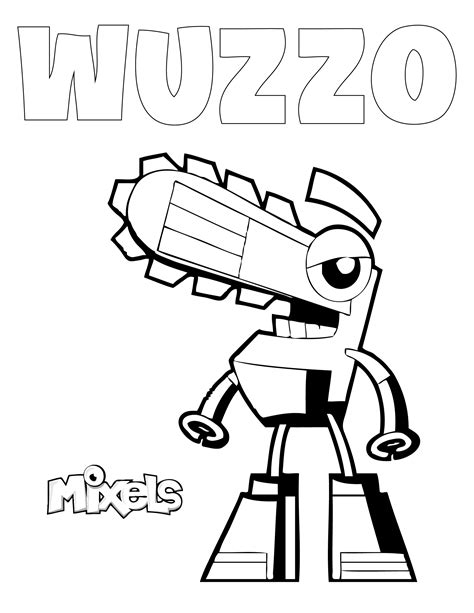 and the tr coloring pages free coloring pages of lego mixels