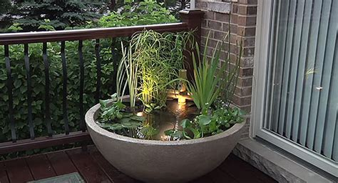 Aquascape Patio Pond by Decktop Pond Season Is Here
