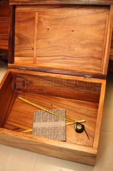 coffee table  storage big storage wooden chest solid