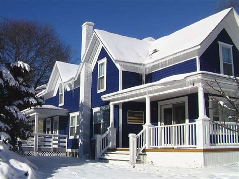 blue and white house breathtaking exterior simple house decoration with blue