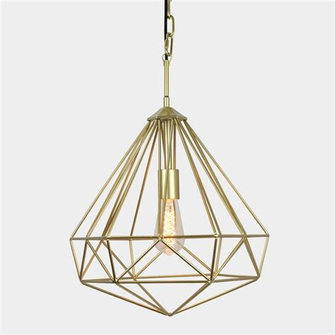 modern gold pendant light chandelier cage pendant light lighting