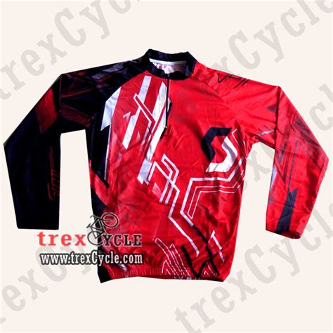 Baju Gowes Surabaya toko baju jersey sepeda jual jersey downhill fox dan august 2013