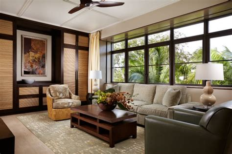 peaceful asian living room interiors designed  comfort