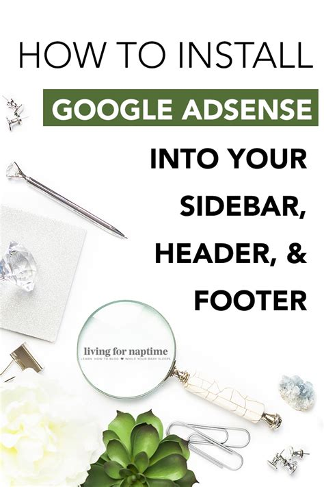 google adsense tutorial step by step how to install google adsense ads in the header footer
