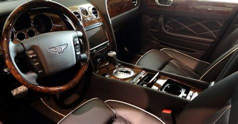 bentley flying spur black interior bentley flying spur with black leather interior db 5