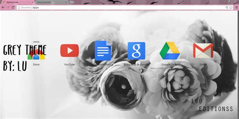 grey theme for google chrome grey theme google chrome by luu editionss on deviantart
