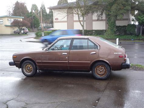 datsun 310 hatchback curbside classics 1979 1982 datsun 310 nissan pulsar