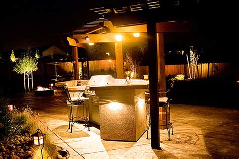 Outdoor Lighting Ideas For Patios Outdoor Lighting Ideas Designwalls