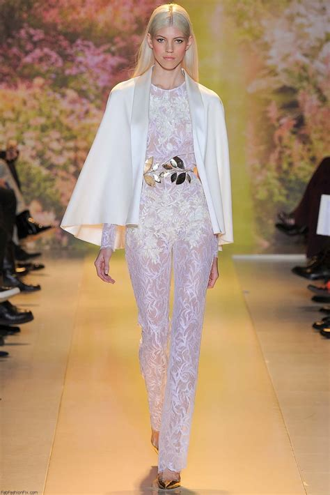 Haute Style Jump For Tones by Zuhair Murad Haute Couture 2014 Collection Fab