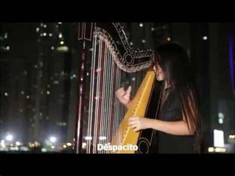 despacito harpa despacito con arpa de luz veron paraguaya youtube