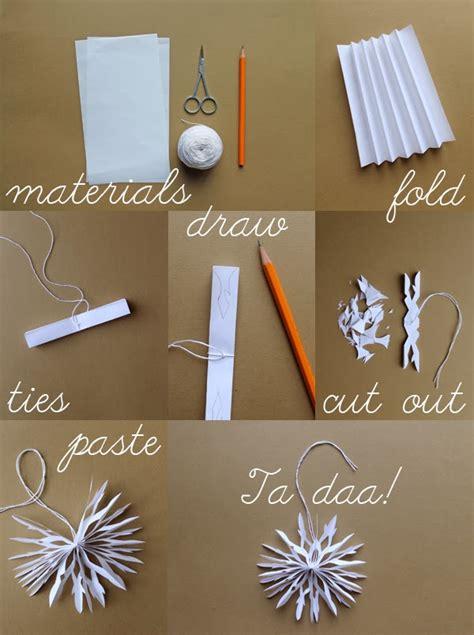 Paper Snowflakes For - giochi di carta paper snowflakes diy
