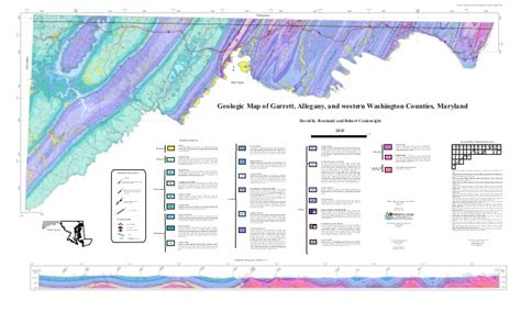maryland geologic map new map shows location of marcellus shale in western maryland