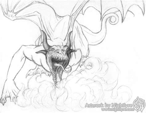 baby shark lyre cool dragon breathing fire drawings www pixshark com
