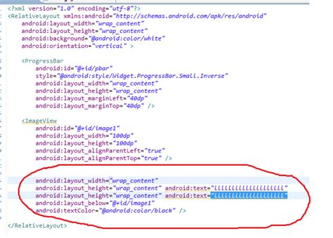 xml layout design android eclipse android layout xml file swapping row and change