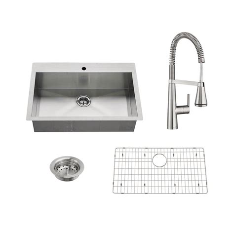 standard kitchen sinks standard edgewater all in one undermount
