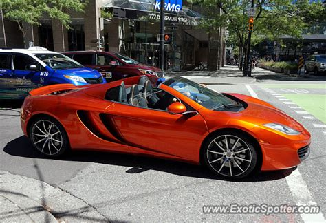 mclaren vancouver mclaren mp4 12c spotted in vancouver canada on 06 21 2015