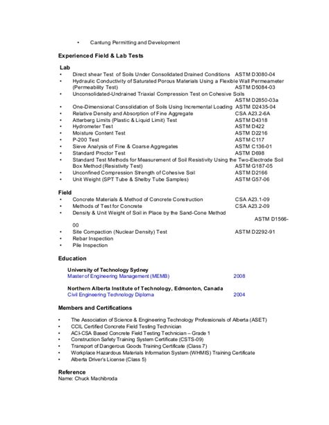 Sample It Resume For Experienced by Resume Hon Lau