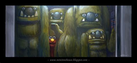Has Add And Is Claustrophobic by Claustrophobic Elmo By Minitreehouse On Deviantart