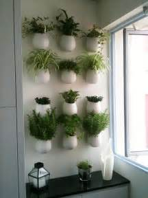 ikea wall garden a wall of herb pots for the kitchen househomeheart
