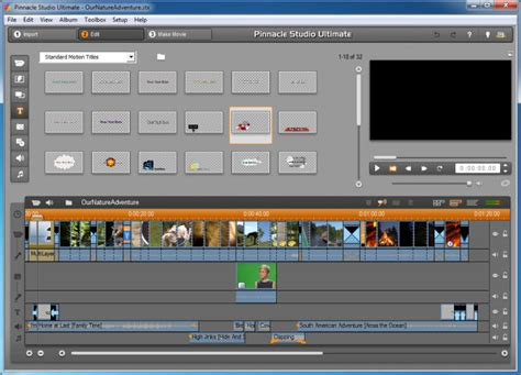 hd video editing software free download full version with crack pinnacle studio download