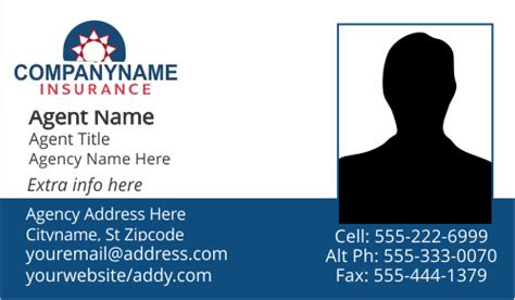 insurance business card templates american family farmers insurance business card templates