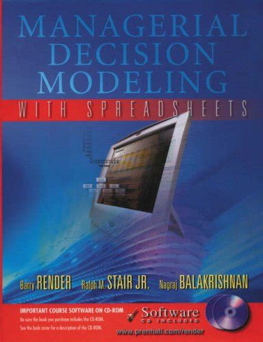 Managerial Decision Modeling With Spreadsheets by Gentian Manko Just Launched On In Usa