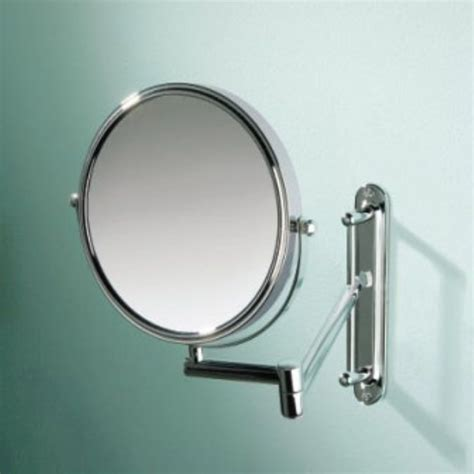 adjustable bathroom wall mirrors tila double arm adjustable bathroom mirror buy online at