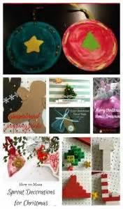 30 homemade kid christmas ornaments the resourceful mama