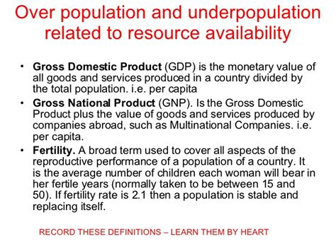 Opulate Definition Population Definitions