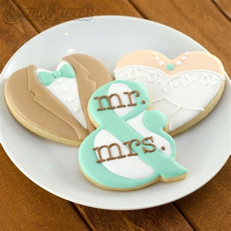 Wedding Cookie Ideas by Ersand Cookie Cutter And Template Semi Sweet Designs