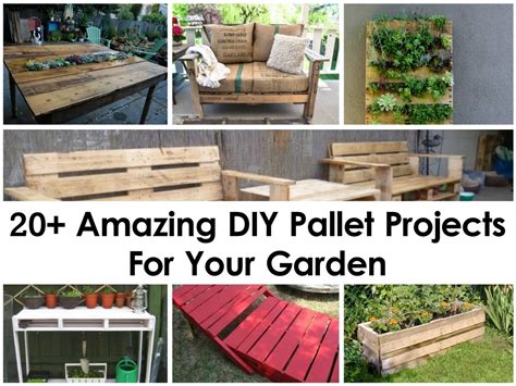 diy projects using pallets 20 amazing diy pallet projects for your garden