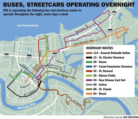 new orleans streetcar map transit service in new orleans gets major expansion sunday