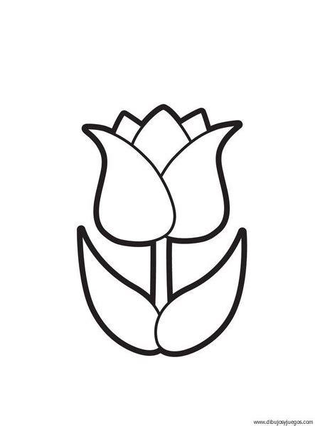 imagenes flores exoticas para colorear flores tulipan para colorear imagui