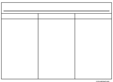 3 column notes template 3 column chart pictures to pin on pinsdaddy