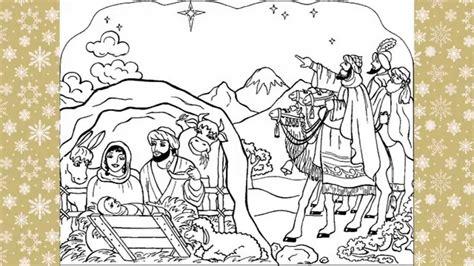 imagenes reyes magos para recortar imagenes de navidad para colorear 2014 youtube