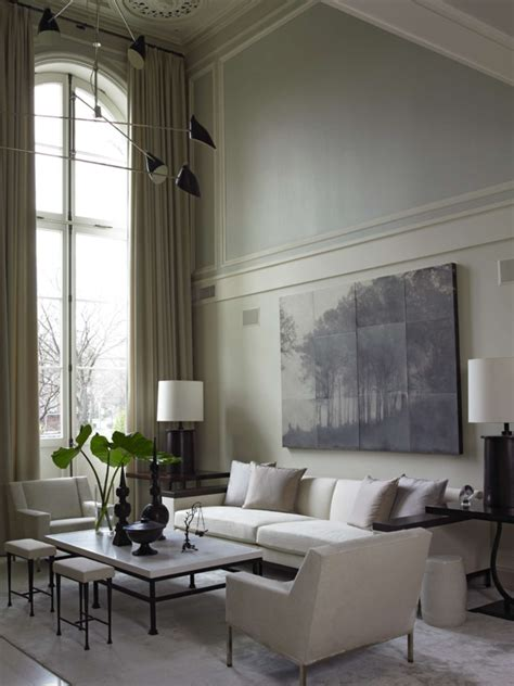 wallpaper for tall walls parisian style townhouse architizer