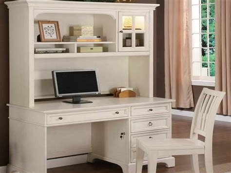 White Writing Desk With Hutch Colworth Computer Desk With Hutch Small Desk With Hutch