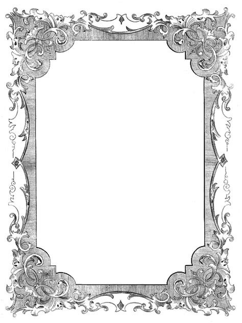 vintage frame templates for photoshop 8 best images of frames and borders photoshop templates