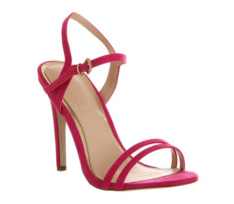 single high heel sandals office jeopardy single sole sandal pink high heels