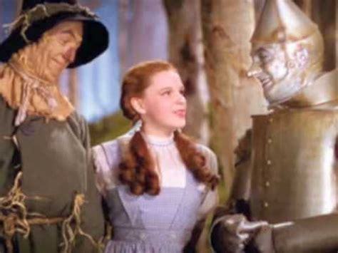 youtube film lion man all wizard of oz solo songs sung by the scarecrow tinman