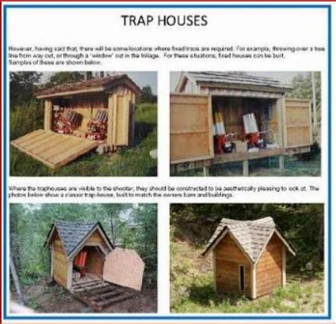 trap house plans trap shooting house plans idea home and house