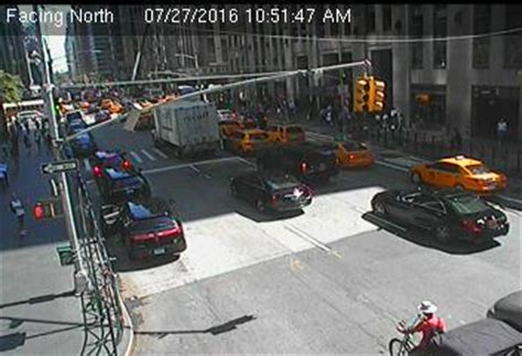 live 6th avenue @ 49th street nyc live traffic weather cam