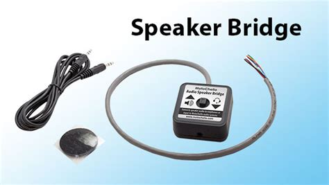 Spaker Hello Wings speaker bridge is here motochello