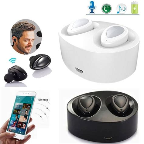 premium sound true wireless headphones stereo headset for iphone x xs max xr 6 7 ebay