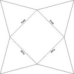 paper pyramid template template to build a paper pyramid math