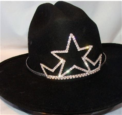 tiara boat hat quot star queen quot rhinestone cowboy hat tiara usa made