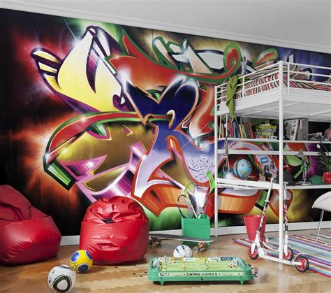 graffiti wallpaper  delivery  paste included