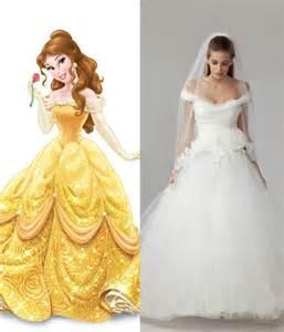 Modern wedding dresses for every disney princess wedding dresses