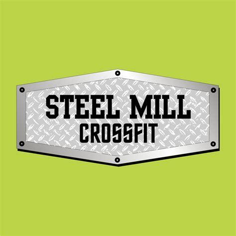 Environmental Graphics Wall Murals logo design steel mill crossfit jacksonville bnsigns